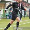 19.11.2011 - Belchatow , pilka nozna , T-Mobile Ekstraklasa , PGE GKS Belchatow (zielone) - LKS Lodz (czarne)  N/Z Marcin Mieciel  Fot. Mariusz Palczynski / MPAimages.com