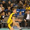 29.12.2011 - Belchatow , siatkowka ,  PlusLiga , PGE SKRA Belchatow (zolte) - Lotos Trefl Gdansk (czarne)  N/Z Karol Klos  Fot. Mariusz Palczynski / MPAimages.com