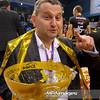 22.01.2012 - Rzeszow , Hala Podpromie , siatkowka ,  Puchar Polski Enea Cup 2012 , Dekoracja  N/Z Prezes Konrad Piechocki  Fot. Mariusz Palczynski / MPAimages.com