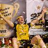 22.01.2012 - Rzeszow , Hala Podpromie , siatkowka ,  Puchar Polski Enea Cup 2012 , Dekoracja  N/Z Bartosz Kurek  Fot. Mariusz Palczynski / MPAimages.com