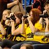 28.01.2012 - Belchatow , siatkowka ,  PlusLiga , PGE SKRA Belchatow (zolte) - Asseco Resovia Rzeszow (czarne)  N/Z Kibice  Fot. Mariusz Palczynski / MPAimages.com