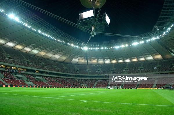 29.02.2012 - Warszawa , Stadion Narodowy , pilka nozna , Polska (biale) - Portugalia (biale)  N/Z Stadion Fot. Mariusz Palczynski / MPAimages.com