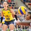 09.06.2012 - Lodz , Atlas Arena , siatkowka , World Grand Prix 2012 , Serbia (niebieskie) - Brazylia (biale) N/Z Camila Brait  Fot. Mariusz Palczynski / MPAimages.com