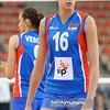 09.06.2012 - Lodz , Atlas Arena , siatkowka , World Grand Prix 2012 , Serbia (niebieskie) - Brazylia (biale) N/Z Milena Rasic  Fot. Mariusz Palczynski / MPAimages.com