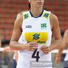 09.06.2012 - Lodz , Atlas Arena , siatkowka , World Grand Prix 2012 , Serbia (niebieskie) - Brazylia (biale) N/Z Paula Pequeno  Fot. Mariusz Palczynski / MPAimages.com