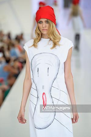 24.06.2012 - Warszawa , Warsaw Fashion Street 2012 N/Z Kolekcja Barbara Mucha  Fot. Mariusz Palczynski / MPAimages.com