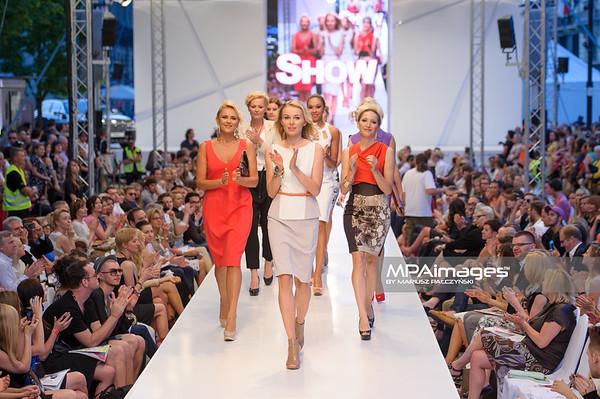 24.06.2012 - Warszawa , Warsaw Fashion Street 2012 N/Z Kolekcja ELIE TAHARI - anna Samousionek , Agnieszka Cegielska , Magdalena Steczkowska  Fot. Mariusz Palczynski / MPAimages.com