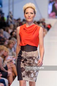 24.06.2012 - Warszawa , Warsaw Fashion Street 2012 N/Z Kolekcja ELIE TAHARI - Magdalena Steczkowska  Fot. Mariusz Palczynski / MPAimages.com