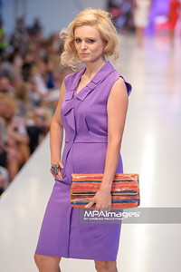 24.06.2012 - Warszawa , Warsaw Fashion Street 2012 N/Z Kolekcja ELIE TAHARI - Aleksandra Mikolajczyk  Fot. Mariusz Palczynski / MPAimages.com