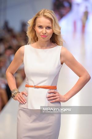 24.06.2012 - Warszawa , Warsaw Fashion Street 2012 N/Z Kolekcja ELIE TAHARI - Agnieszka Cegielska   Fot. Mariusz Palczynski / MPAimages.com