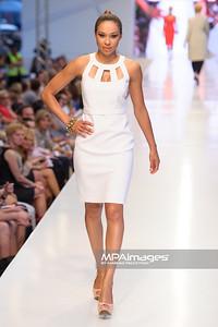 24.06.2012 - Warszawa , Warsaw Fashion Street 2012 N/Z Kolekcja ELIE TAHARI - Omenaa Mensah  Fot. Mariusz Palczynski / MPAimages.com
