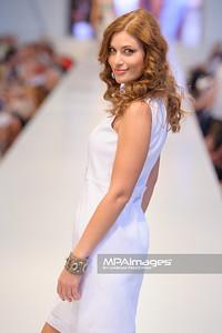 24.06.2012 - Warszawa , Warsaw Fashion Street 2012 N/Z Kolekcja ELIE TAHARI  - Aleksandra Kisio  Fot. Mariusz Palczynski / MPAimages.com