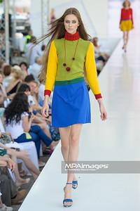24.06.2012 - Warszawa , Warsaw Fashion Street 2012 N/Z Kolekcja Iwona Wolowiec  Fot. Mariusz Palczynski / MPAimages.com