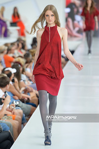 24.06.2012 - Warszawa , Warsaw Fashion Street 2012 N/Z Kolekcja Justyna Czekala  Fot. Mariusz Palczynski / MPAimages.com