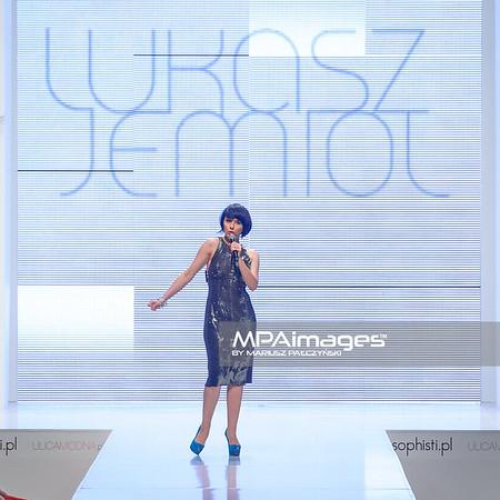 24.06.2012 - Warszawa , Warsaw Fashion Street 2012 N/Z Kolekcja Lukasz Jemiol - Tatiana Okupnik  Fot. Mariusz Palczynski / MPAimages.com
