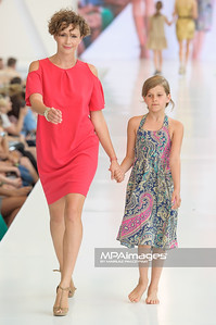 24.06.2012 - Warszawa , Warsaw Fashion Street 2012 N/Z Zaradna Mama - Monika Mrozowska  Fot. Mariusz Palczynski / MPAimages.com