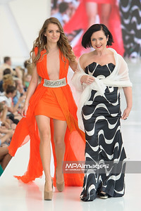 24.06.2012 - Warszawa , Warsaw Fashion Street 2012 N/Z Zaradna Mama - Maria Niklinska , Jolanta Fajkowska  Fot. Mariusz Palczynski / MPAimages.com