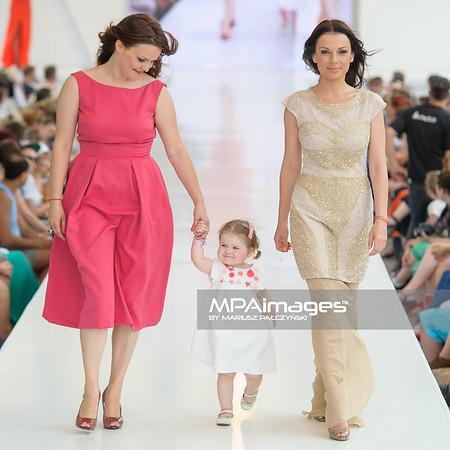 24.06.2012 - Warszawa , Warsaw Fashion Street 2012 N/Z Zaradna Mama - Magdalena Lyczko ,  Katarzyna Glinka  Fot. Mariusz Palczynski / MPAimages.com