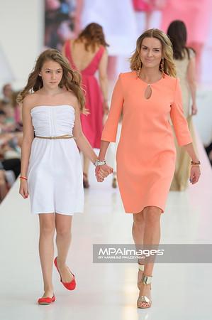 24.06.2012 - Warszawa , Warsaw Fashion Street 2012 N/Z Zaradna Mama - Hanna Lis   Fot. Mariusz Palczynski / MPAimages.com