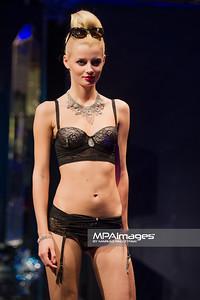 06.10.2012 - Lodz , Manufaktura Fashion Week 2012  N/Z Pokaz bielizny Atlantic  Fot. Mariusz Palczynski / MPAimages.com
