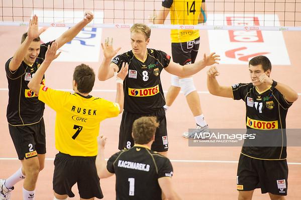 07.10.2012 - Belchatow , Hala Energia , siatkowka ,  PlusLiga , PGE SKRA Belchatow - Lotos Trefl Gdansk  N/Z Lotos Trefl Sopot   Fot. Mariusz Palczynski / MPAimages.com
