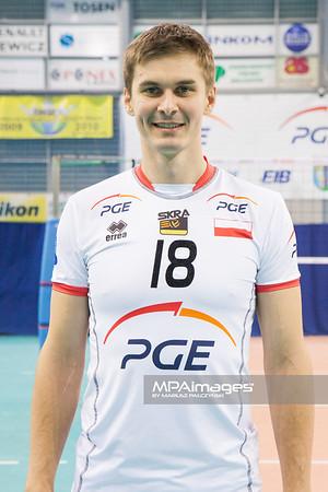 10.12.2012 - Belchatow , Hala Energia , siatkowka ,  PlusLiga , Sesja PGE Skra Belchatow  N/Z Michal Bakiewicz   Fot. Mariusz Palczynski / MPAimages.com