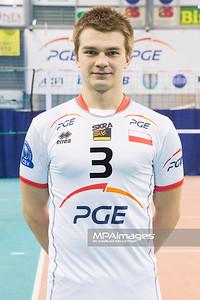10.12.2012 - Belchatow , Hala Energia , siatkowka ,  PlusLiga , Sesja PGE Skra Belchatow  N/Z Lukasz Zugaj  Fot. Mariusz Palczynski / MPAimages.com