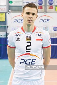 10.12.2012 - Belchatow , Hala Energia , siatkowka ,  PlusLiga , Sesja PGE Skra Belchatow  N/Z Mariusz Wlazly  Fot. Mariusz Palczynski / MPAimages.com