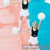 23.01.2013 - Lodz, Atlas Arena , siatkowka , CEV Champions League 2012 / 2013 , PGE Skra Belchatow (biale) - Arkas Izmir (granatowe)  N/Z Cheerleaders Belchatow  Fot. Mariusz Palczynski