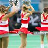 02.02.2013 - Lodz, Atlas Arena , futbol amerykanski ,  Polska (czerwone) - Szwecja (zolte) N/Z Cheerleaders  Fot. Mariusz Palczynski / MPAimages.com