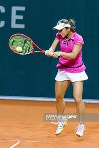 10.04.2013 - Katowice , Spodek , tenis ,  BNP Paribas Katowice Open , Petra Kvitova - Misaki Doi N/Z Misaki Doi  Fot. Mariusz Palczynski / MPAimages.com