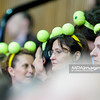 12.04.2013 - Katowice , Spodek ,  BNP Paribas Katowice Open , Petra Kvitova (CZE) - Petra Martic (CRO) n/z  Kibice  Fot. Mariusz Palczynski / MPAimages.com  Katowice / Poland . Tennis tournament WTA Katowice BNP Paribas Open