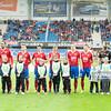 12.05.2013 Gliwice , Stadion Miejski , pilka nozna , T-Mobile Ekstraklasa , Piast Gliwice (czerwone) - Slask Wroclaw (biale) N/Z Piast Gliwice Fot. Karol Bartnik / MPAimages.com