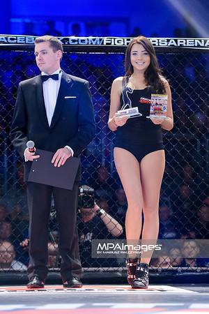2013.05.24 Belchatow, Hala Energia , MMA Fighters Arena 8 N/Z Hostessa  Fot. Mariusz Palczynski / MPAimages.com