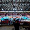 07.06.2013 - Warszawa , Torwar , siatkowka , Liga Swiatowa World League 2013 , Polska (biale) - Brazylia (zolte)  N/Z Torwar  Fot. Mariusz Palczynski / MPAimages.com
