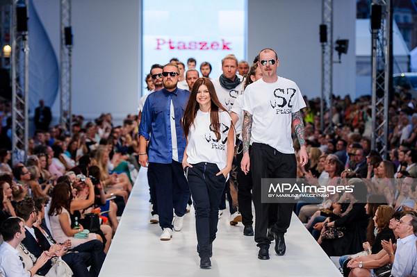 23.06.2013 - Warszawa , Warsaw Fashion Street 2013 N/Z Pokaz Ptaszek  Fot. Mariusz Palczynski / MPAimages.com
