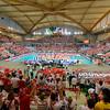 28.06.2013 - Bydgoszcz , Hala Luczniczka , siatkowka , Liga Swiatowa World League 2013 , Polska (biale) - Argentyna (niebieskie) N/Z Hala Luczniczka   Fot. Mariusz Palczynski / MPAimages.com