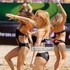 03.07.2013 - Stare Jablonki , siatkowka plazowa , Mistrzostwa Swiata w siatkowke plazowa Mazury 2013 , FIVB Beach Volleyball World Championships  N/Z SK Bank Beach Dancers  Fot. Mariusz Palczynski / MPAimages.com