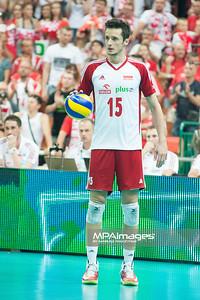 05.07.2013 Katowice , siatkowka , Liga Swiatowa , Polska (biale) - USA (czerwone) N/Z Lukasz Zygadlo Fot. Karol Bartnik / MPAimages.com