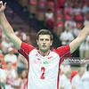 05.07.2013 Katowice , siatkowka , Liga Swiatowa , Polska (biale) - USA (czerwone) N/Z Michal Winiarski Fot. Karol Bartnik / MPAimages.com