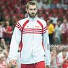 05.07.2013 Katowice , siatkowka , Liga Swiatowa , Polska (biale) - USA (czerwone) N/Z Marcin Mozdzonek Fot. Karol Bartnik / MPAimages.com