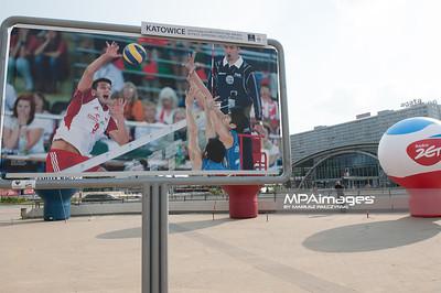 05.07.2013 Katowice , siatkowka , Liga Swiatowa , Wystawa fotografii Mariusza Palczynskiego  Fot. Karol Bartnik / MPAimages.com