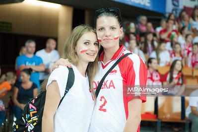 07.07.2013 Wroclaw , Hala Stulecia , siatkowka , Liga Swiatowa , Polska (czerwone) - USA (granatowe) N/Z  Fot. Karol Bartnik / MPAimages.com