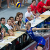 07.09.2013 - Plock , Orlen Arena , siatkowka , Memorial Huberta Wagnera 2013 , Rosja (granatowe) - Holandia (biale)  N/Z Nikolay Pavlov  Fot. Mariusz Palczynski / MPAimages.com
