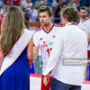 08.09.2013 - Plock , Orlen Arena , siatkowka , Memorial Huberta Wagnera 2013 , Dekoracja  N/Z Michal Kubiak  Fot. Mariusz Palczynski / MPAimages.com