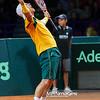 13.09.2013 - Warszawa , Torwar , tenis , Davis Cup Plau Off , Polska (biale) - Australia (zolte)  N/Z Lleyton Hewitt  Fot. Mariusz Palczynski / MPAimages.com