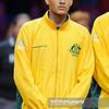 13.09.2013 - Warszawa , Torwar , tenis , Davis Cup Plau Off , Polska (biale) - Australia (zolte)  N/Z Nick Kyrgios  Fot. Mariusz Palczynski / MPAimages.com