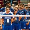 22.09.2013 Gdansk , ERGO Arena , siatkowka , Mistrzostwa Europy , Turcja (czerwone) Francja (niebieskie)  N/Z Francja Fot. Karol Bartnik / MPAimages.com