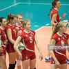 21.12.2013 , Sosnowiec , siatkowka , II liga kobiet gr. II ,  SMS PZPS II Sosnowiec (czerwone) SMS LO II Opole (niebieskie)  N/Z SMS Sosnowiec Fot. Karol Bartnik / MPAimages.com