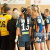 02.02.2014 , Kielce , pilka reczna , II liga kobiet , Korona Handball Kielce (granatowe) ChKS Lodz (zolte)  N/Z Korona Handball Fot. Karol Bartnik / MPAimages.com